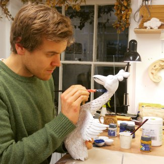 Painting the Roly-Poly Bird